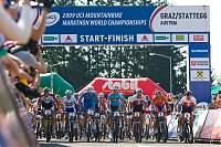 Start UCI MTB Marathon WM 09 Herren<br/>Foto: Erwin Haiden, nyx.at