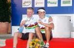Die Weltmeister Roel Paulissen und Sabine Spitz<br>Foto: Lars Eberhart, nyx.at