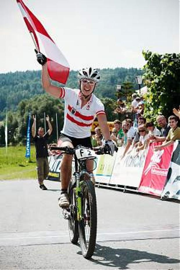Europameisterin Theresia Kellermayr AUT