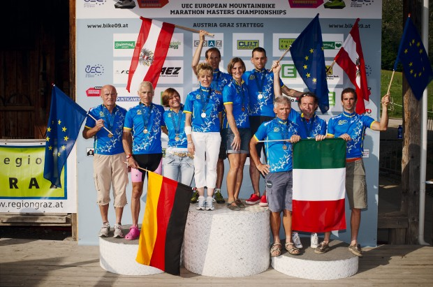 UEC Mountainbike Marathon Masters European Champions Graz/Stattegg 2011  by grubernd