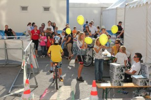 Foto auf Feiertag des Sports in Wien und wir mittendri(e)n