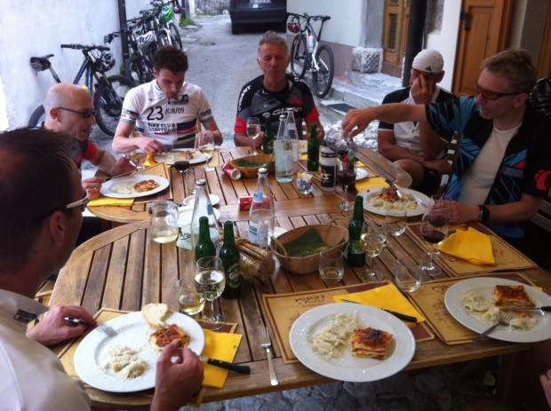 Foto auf Tourentage Sutrio - Gemona (ITA) 8. - 12. Juni 2016 > GIANT Stattegg