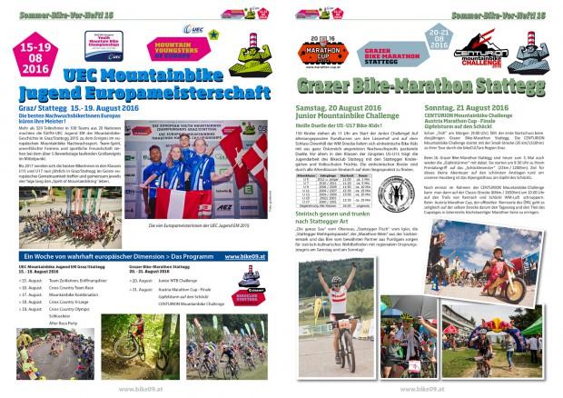 Foto auf Werde Stattegger Sommer Bike Heftl Inserent!!!