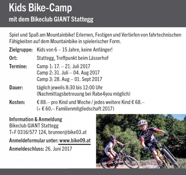 Foto auf Bike-Camps