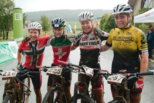 Helene Marie Fossesholm (3rd place), Vera Schmid (4th ), Tamara Wiedmann (2nd) and Harriet Harnden (1st)