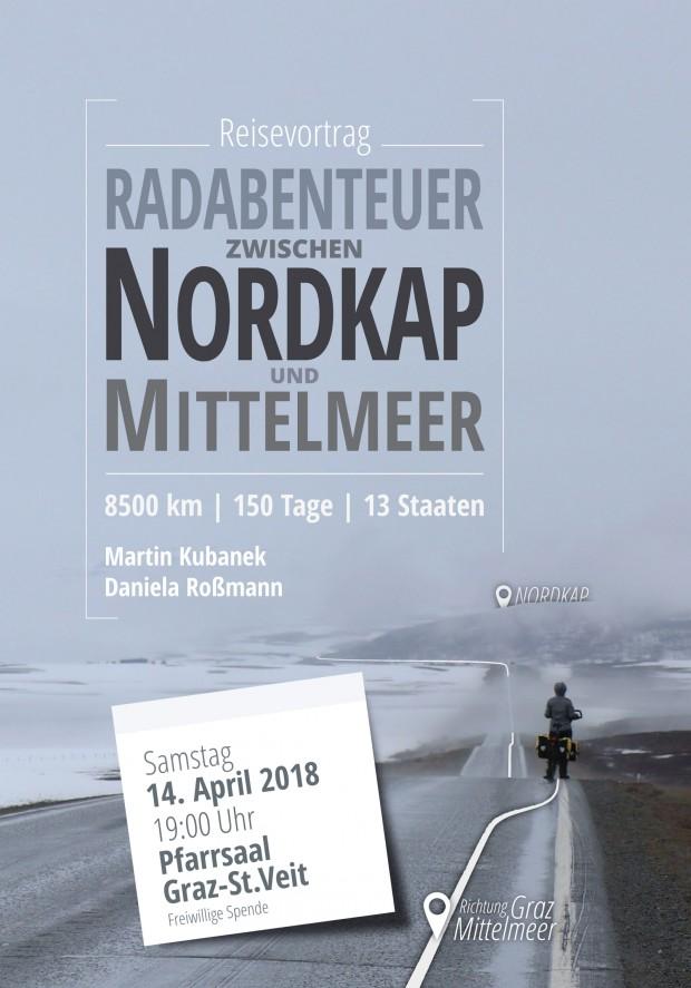 Foto auf Reisevortrag: Radabenteuer zwischen Nordkap und Mittelmeer  14. April
